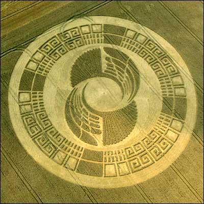 Crop Circle como analogía del brinco